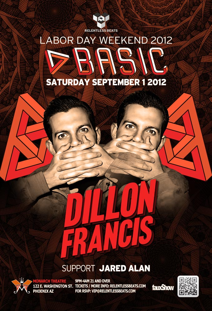 Dillon Francis @ BASIC - LDW 2012 on 09/01/12