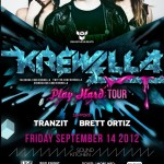 Krewella @ Sound Kitchen / Wild Knight - Friday, September 14, 2012