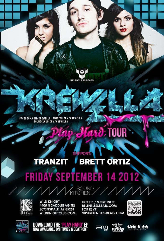 Krewella @ Sound Kitchen on 09/14/12