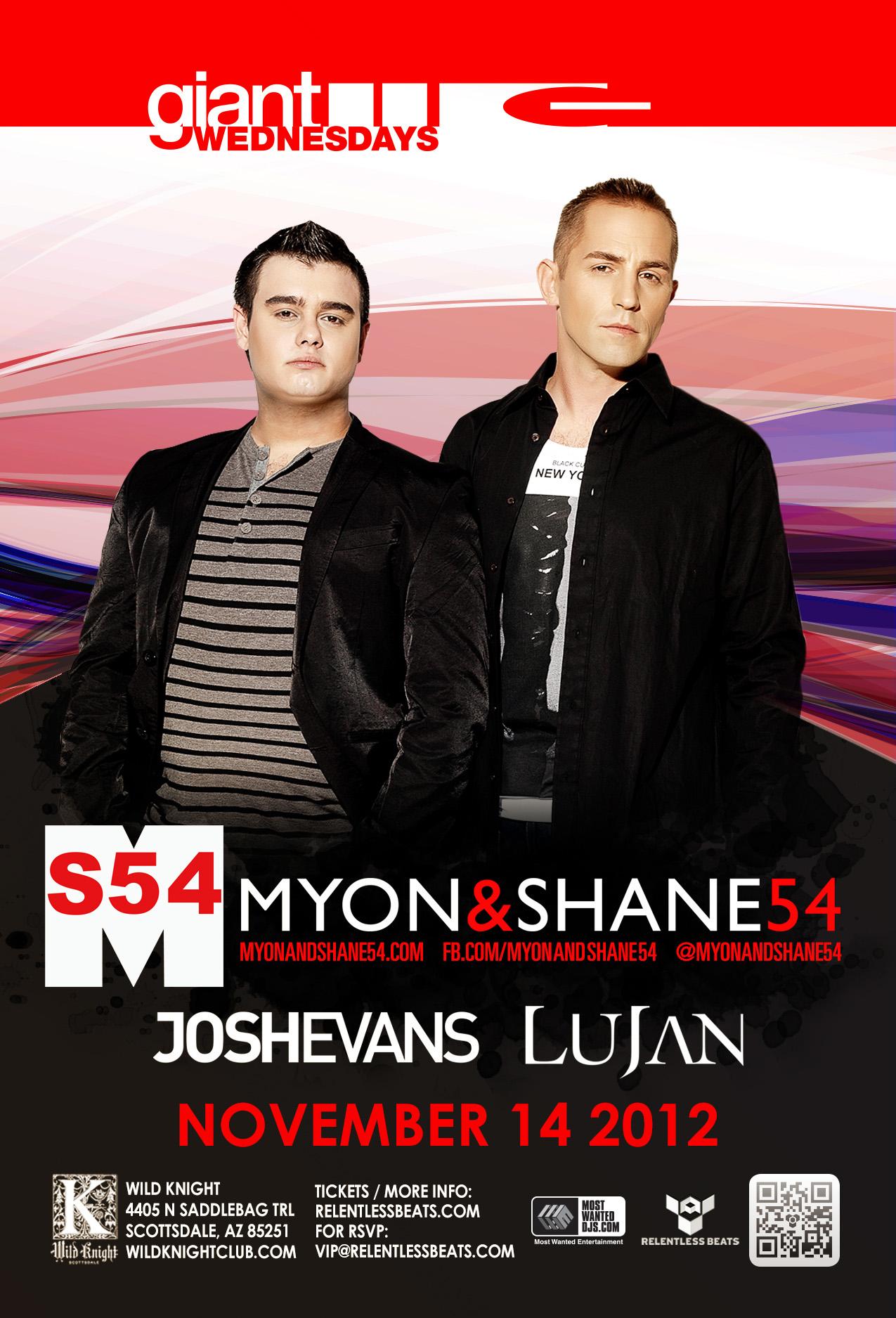 Myon and Shane 54 @ GIANT Wednesday on 11/14/12
