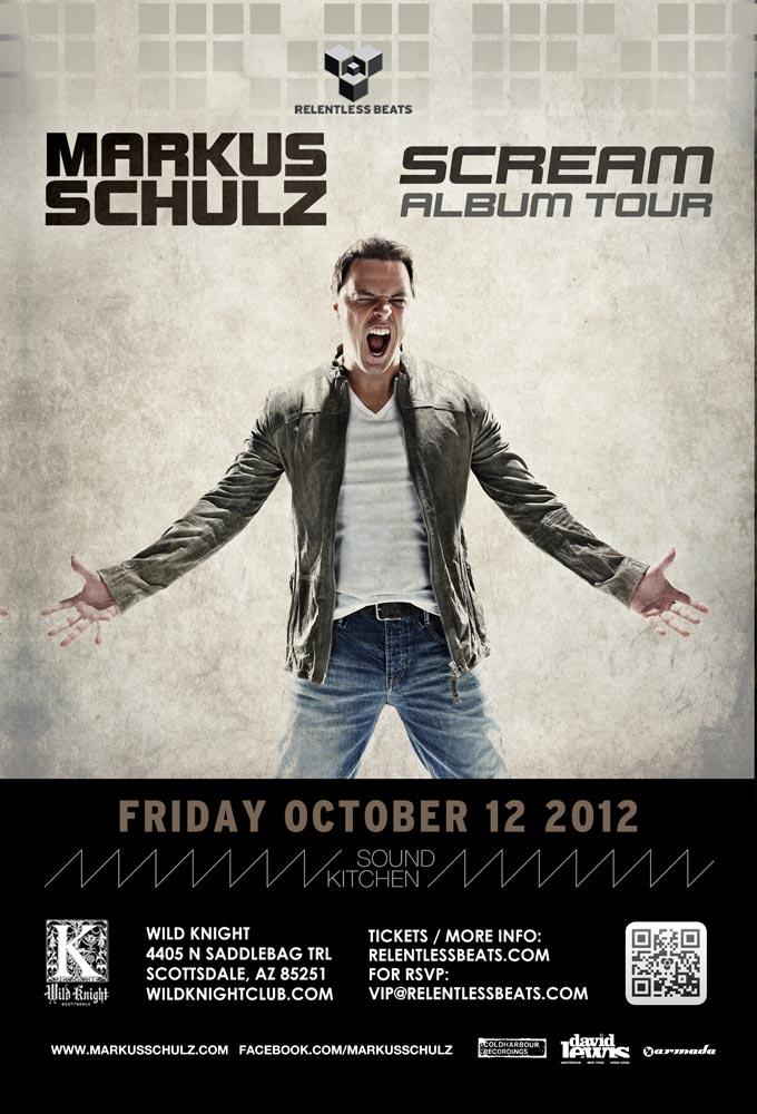 Markus Schulz @ Sound Kitchen on 10/12/12