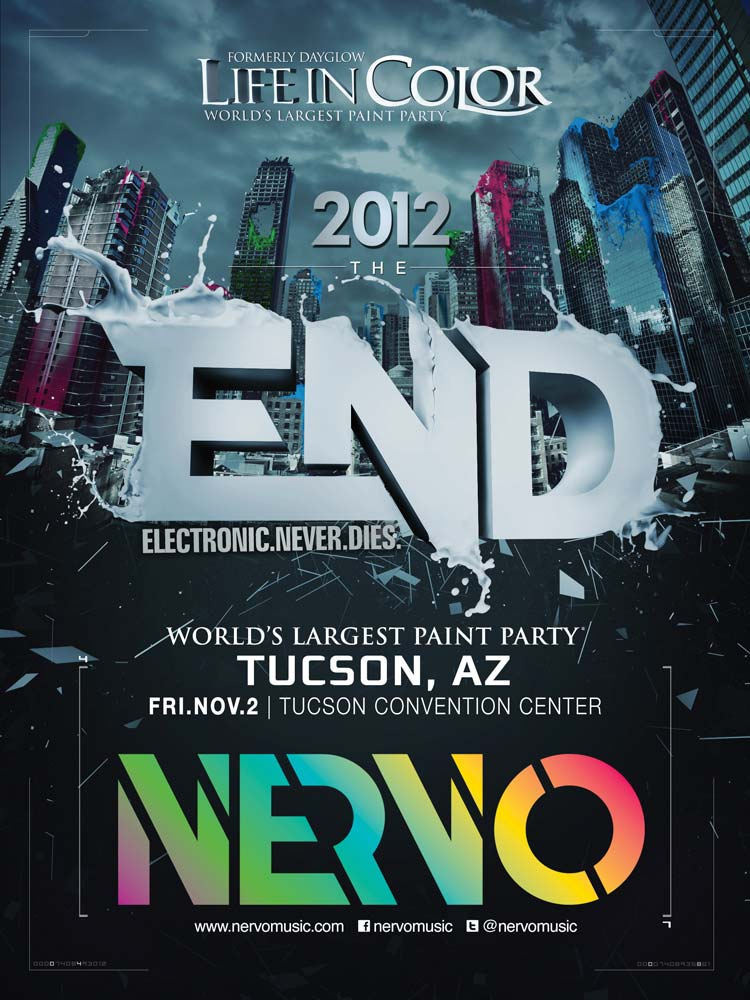 Life In Color - 2012 The E.N.D. Tour - Tucson on 11/02/12