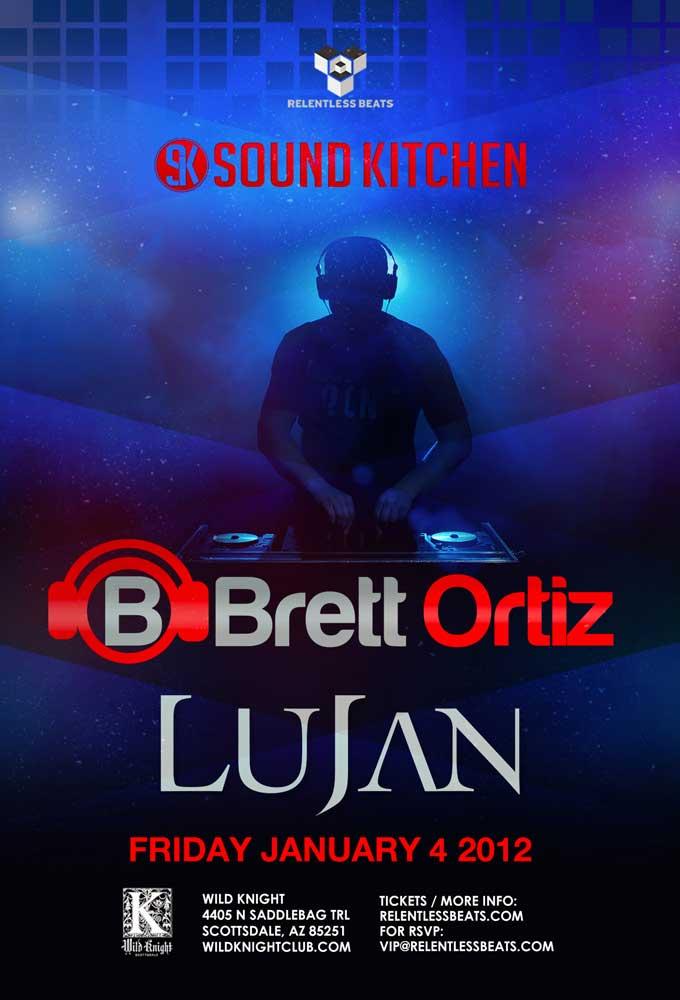 Brett Ortiz, Lujan @ Sound Kitchen on 01/04/13