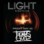 Thomas Gold Launches LIGHT Residency Friday May 3