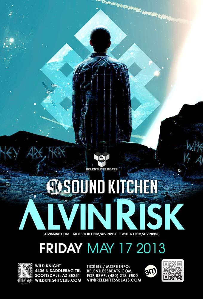Alvin Risk @ Sound Kitchen on 05/17/13