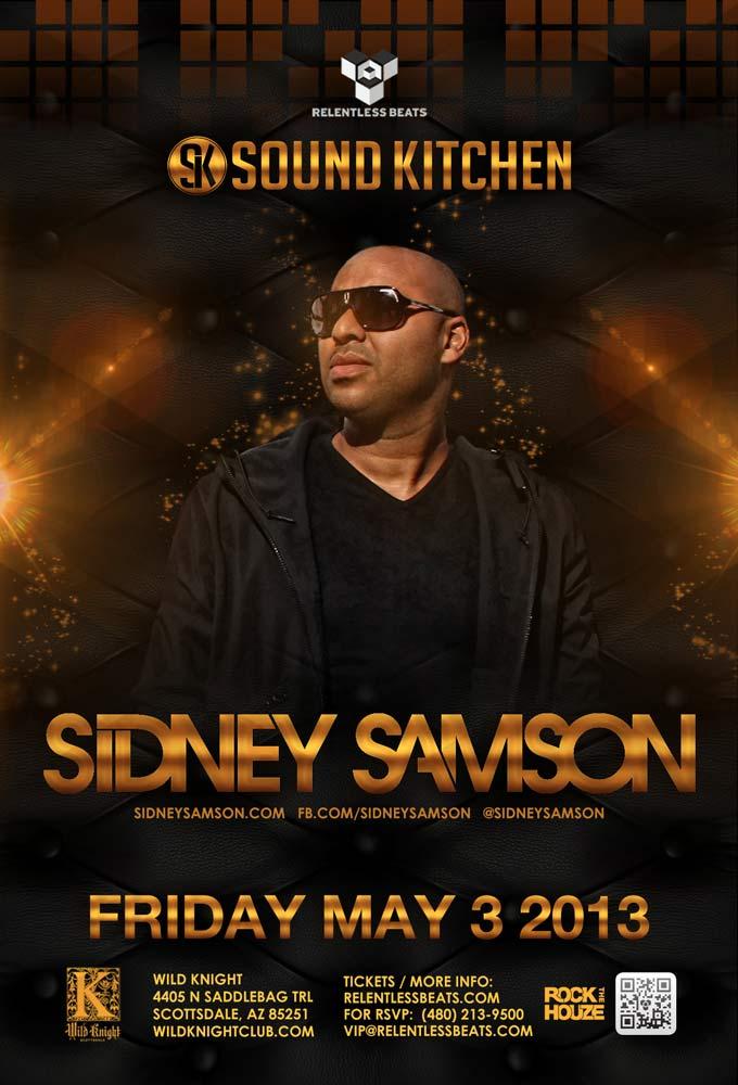 Sidney Samson @ Sound Kitchen on 05/03/13