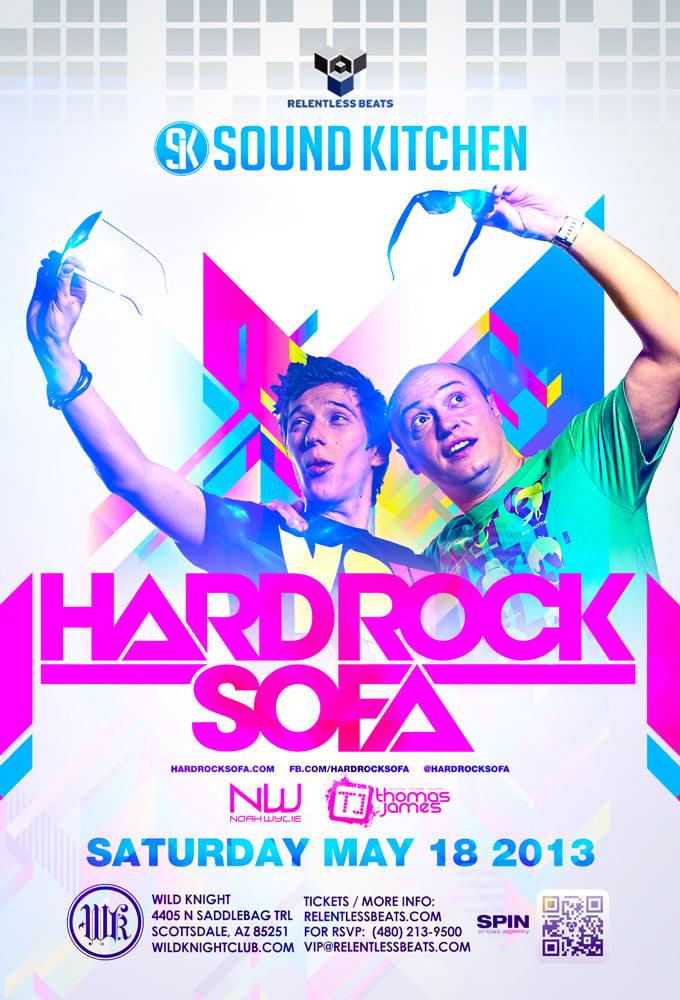 Hard Rock Sofa @ Sound Kitchen on 05/18/13