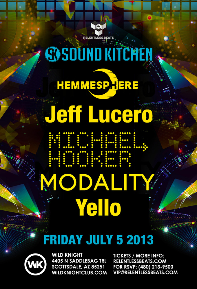 Sound Kitchen Showcase w/ Jeff Lucero, Michael Hooker, and more on 07/05/13