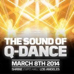 The Sound of Q-dance LA 2014 Announces Full Lineup