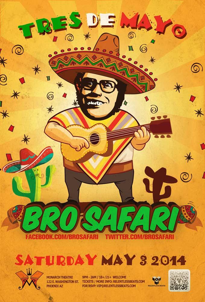 Bro Safari @ Monarch Theatre on 05/03/14