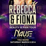 Rebecca & Fiona @ INTL - Saturday, March 8, 2014
