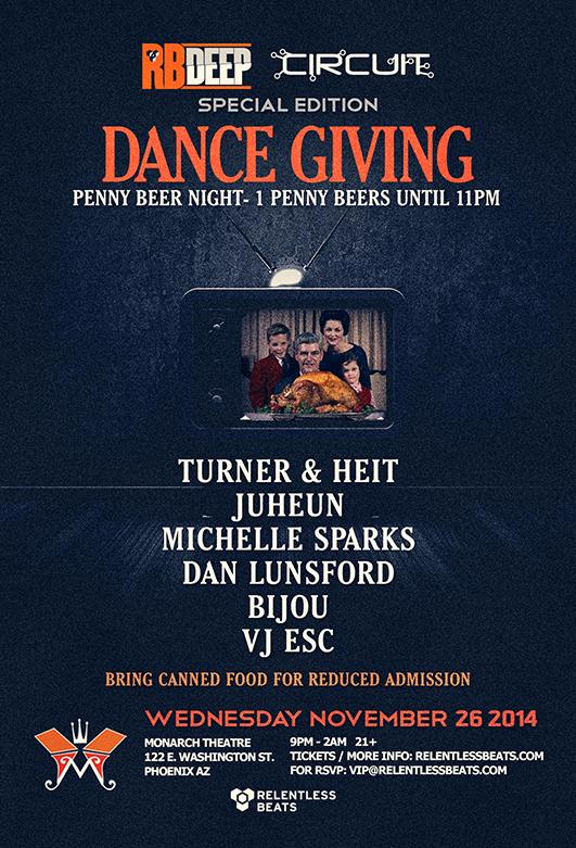 RBDeep & Circuit @ Dancegiving on 11/26/14