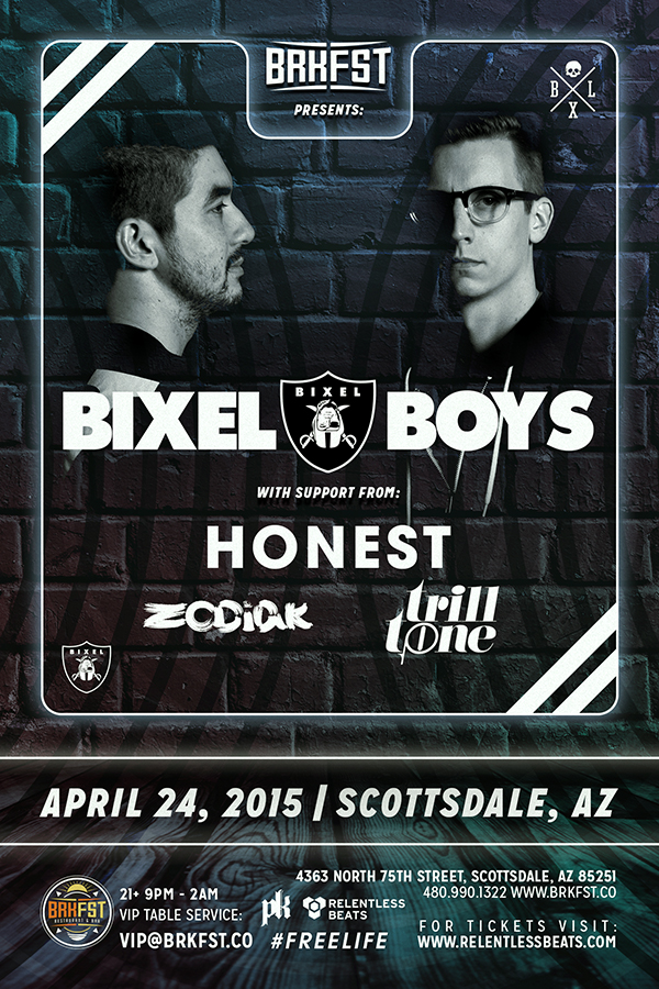 Bixel Boys @ BRKFST on 04/24/15