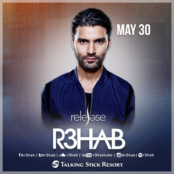R3HAB @ Release Pool Party on 05/30/15