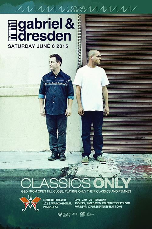 Gabriel & Dresden @ Sound Kitchen on 06/06/15