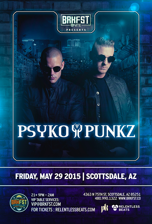BRKFST @ Nite - Psyko Punkz on 05/29/15