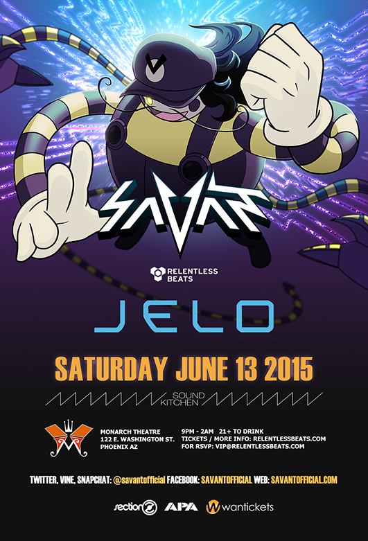 Savant @ Sound Kitchen on 06/13/15