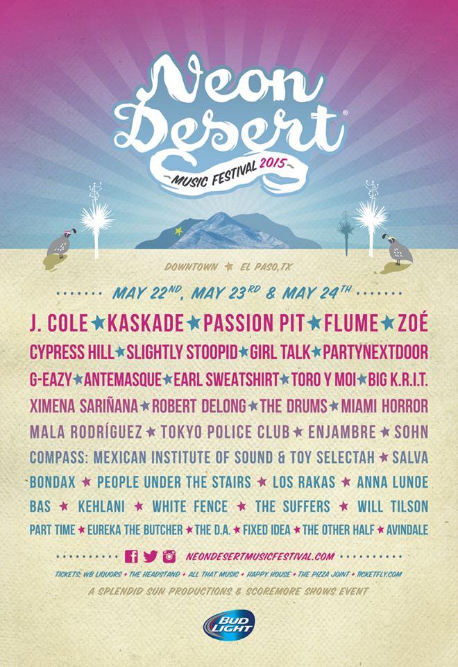 Neon Desert Music Festival on 05/22/15