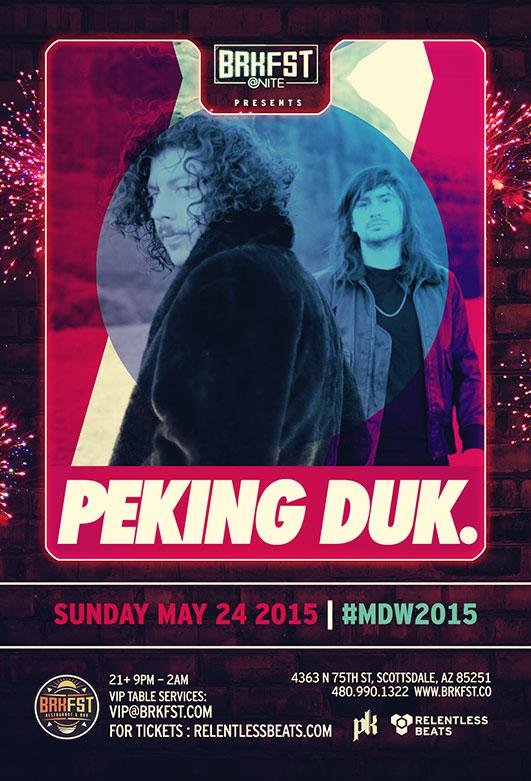BRKFST @ NITE - Peking Duk - #MDW2015 on 05/24/15