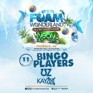 Foam Wonderland NEON BEACH TOUR 2015 on 10/17/15