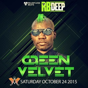 Green Velvet @ RBDeep on 10/24/15