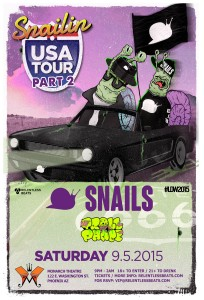 Snails + Trollphace #LDW2015 on 09/05/15