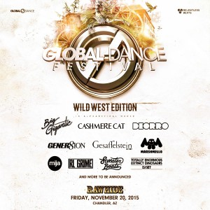 Global Dance Festival 2015 - Wild West Edition on 11/20/15