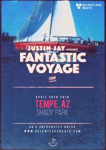 Fantastic Voyage Tour ft Justin Jay on 04/30/16