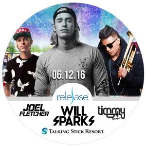 Will Sparks, Timmy Trumpet, & Joel Fletcher on 06/12/16