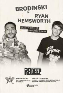 Brodinski + Ryan Hemsworth on 07/30/16
