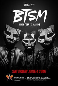 Black Tiger Sex Machine on 06/04/16