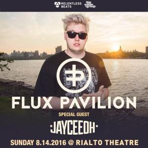 Flux Pavilion + Jayceeoh on 08/14/16