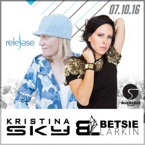 Kristina Sky and Betsie Larkin on 07/10/16