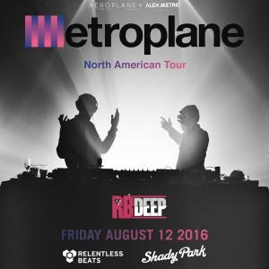 Aeroplane & Alex Metric - Metroplane on 08/12/16