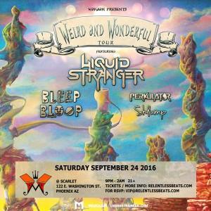 Liquid Stranger - Weird & Wonderful Tour on 09/24/16