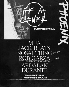 Mija- Fk A Genre Tour on 11/23/16