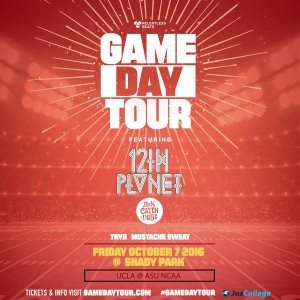 12th Planet - Game Day Tour on 10/07/16