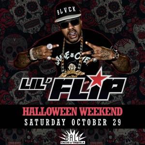 Lil Flip on 10/29/16