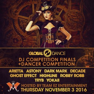 Global Dance DJ Competition Finals & Dance Competition 2016 on 11/03/16