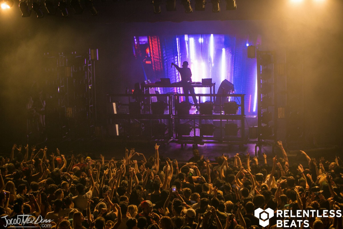 Zeds Dead Northern Lights Tour Tempe Photos 102716 Marquee