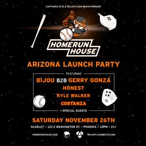 Homerun House Arizona Launch Party on 11/26/16