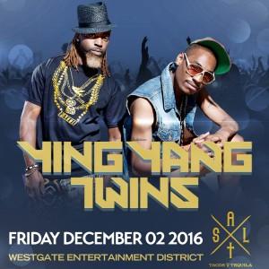 Ying Yang Twins on 12/02/16