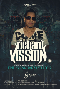 Richard Vission on 01/13/17