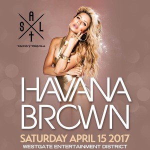 Havana Brown on 04/15/17