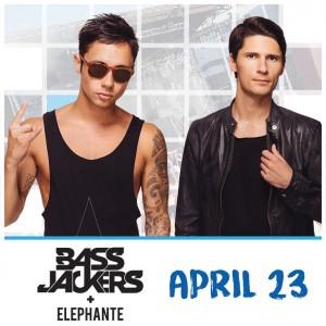 Bassjackers + Elephante on 04/23/17