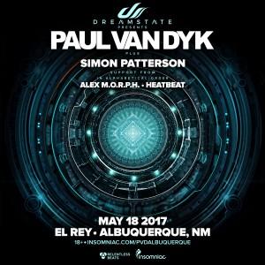 Dreamstate presents: Paul van Dyk in Albuquerque on 05/18/17