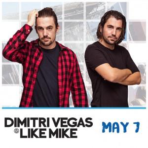 Dimitri Vegas & Like Mike on 05/07/17
