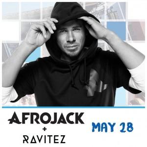 Afrojack + Ravitez on 05/28/17
