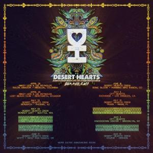 Desert Hearts presents Mikey Lion, Lee Reynolds, Marbs, Porkchop on 05/28/17