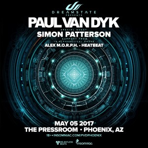 Dreamstate presents: Paul van Dyk in Phoenix on 05/05/17